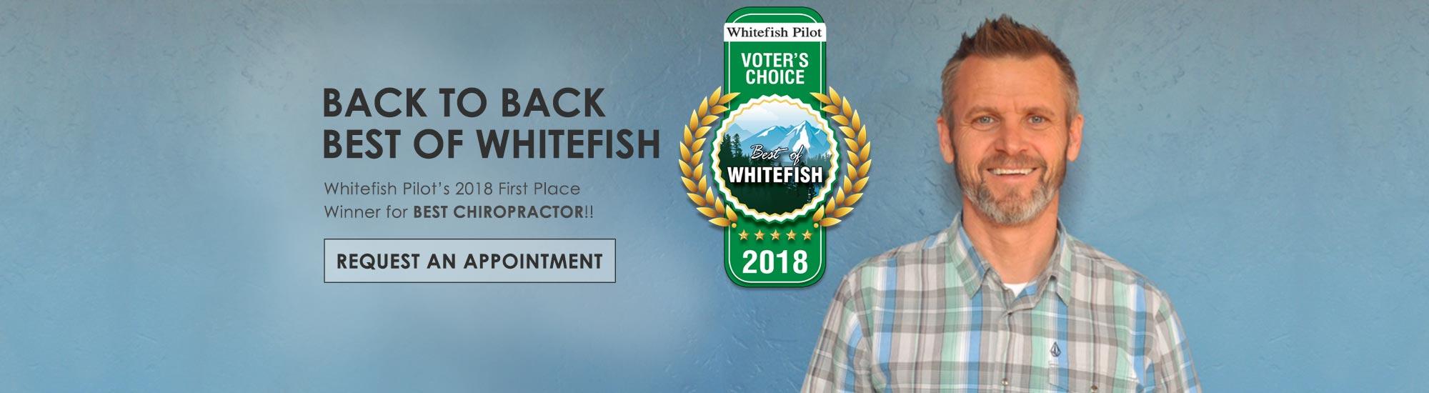 Chiropractor Tim Dudley Whitefish MT